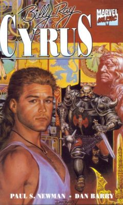 billy ray cyrus comic cover