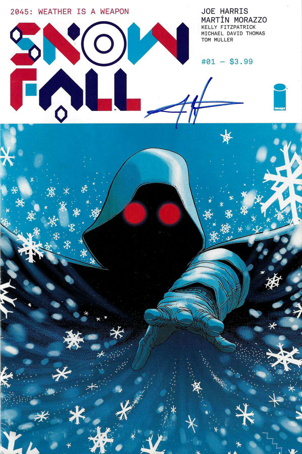 cover of snowfall #1
