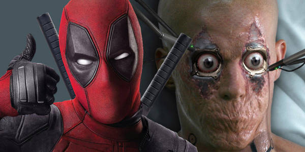 deadpool from both movies shown side by side