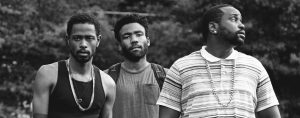 donald glover and gang in atlanta - Atlanta Review Feature Image