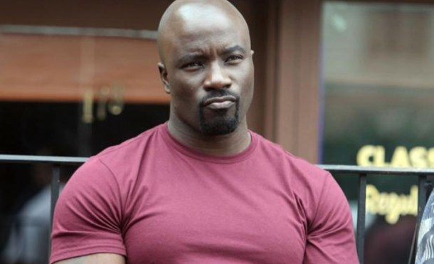 luke cage making mean face