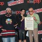 stan lee and kevin smith at nycc