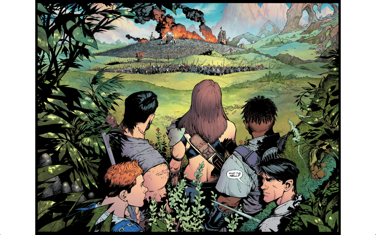 reborn - Reborn Review: Incredible Art, Imagination Make A New Classic From Capullo & Millar