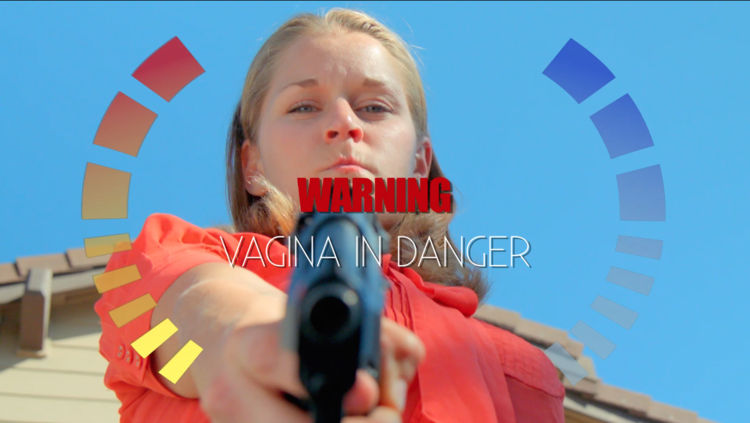 goldeneye style death screen saying vagina in danger