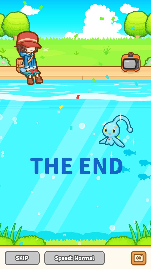 ending screen