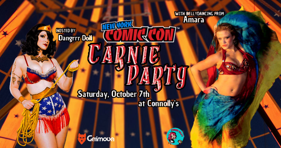 carnie party banner