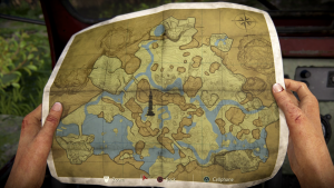 the map in the lost legacy