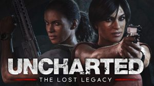 uncharted the lost legacy's 2 main characyers
