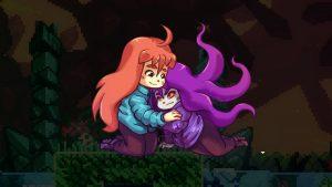 madeline hugging her alter ego