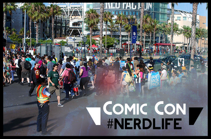 Comic Con Guides Header Image - picture of the scene outside the sdcc convention center