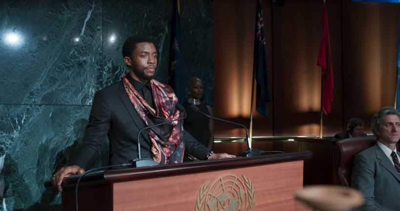 t'challa speaks at the UN