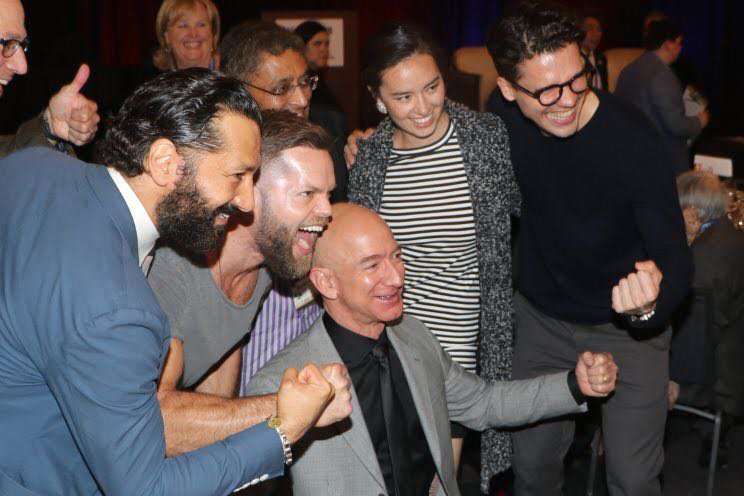the cast of the expanse excited as they hear news about the renewal of the expanse by amazon